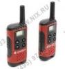 Motorola <TLKR-T40> 2 порт. радиостанции (PMR446. 4 км. 8 каналов. LCD. 3xAAA) <P14MAA03A1BB>