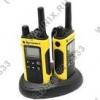 Motorola <TLKR-T80 EXTREME> 2 порт. радиостанции (PMR446.10 км.8 каналов.LCD.настольное з/у. NiMH)<P14MAA03A1BF>